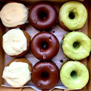 Vegan Gluten Free Donuts Box